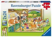 Fröhliches Landleben. Puzzle 2 x 24 Teile