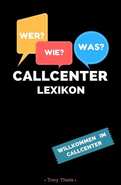 Callcenter Lexikon als Buch