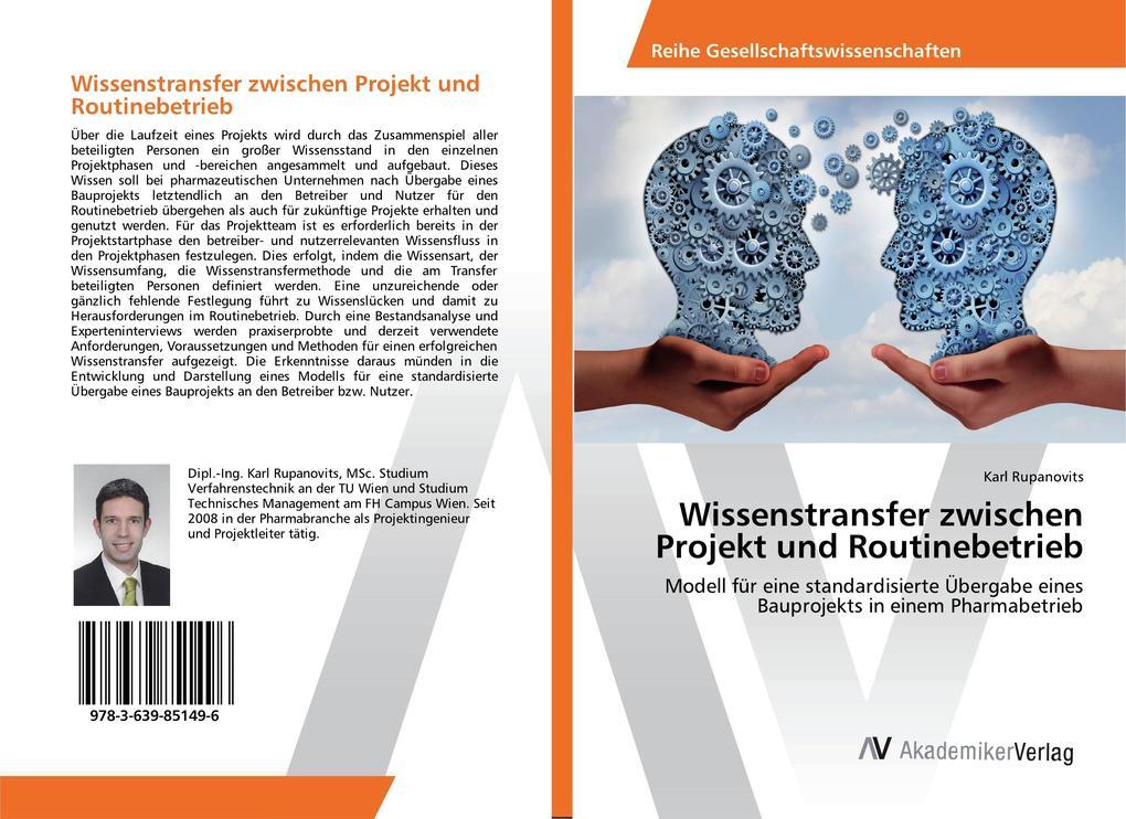 Wissenstransfer zwischen Projekt und Routinebet...
