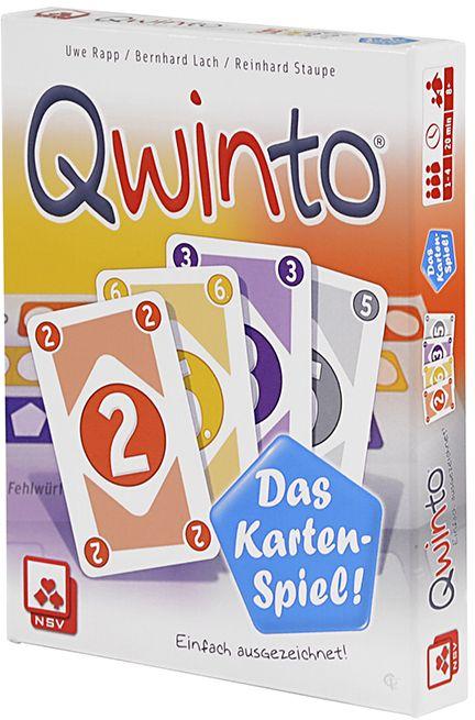 Nürnberger Spielkarten - Qwinto - Das Kartenspiel als sonstige Artikel