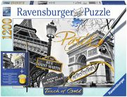 Ravensburger Puzzle - Goldenes Paris, 1200 Teile