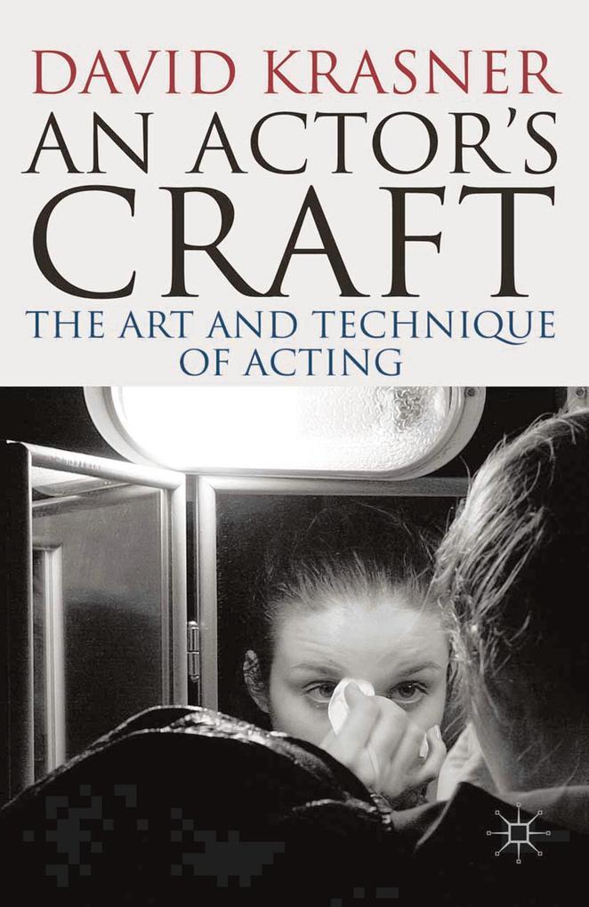 Actor´s Craft als eBook Download von David Krasner