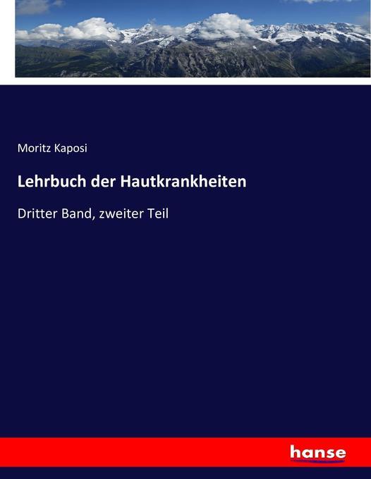 Lehrbuch der Hautkrankheiten als Buch von Morit...