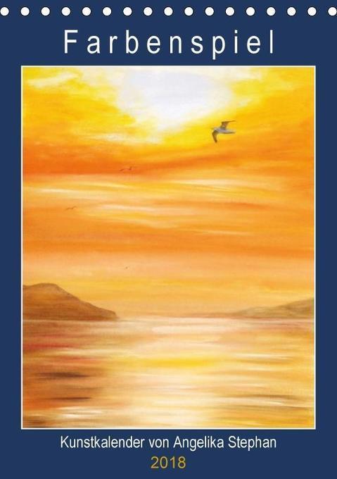 Kunstkalender Farbenspiel von Angelika Stephan ...