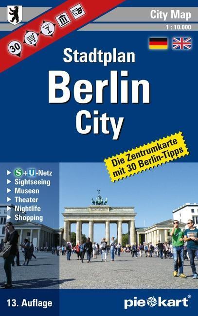 Berlin City 1 : 10.000 Stadtplan als Buch