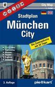 München City 1 : 10.000 Stadtplan
