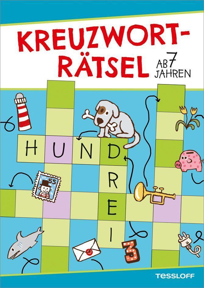 Kreuzworträtsel ab 7 Jahren als Buch