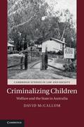 Criminalizing Children: Welfare and the State in Australia