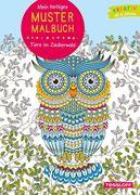 Mein farbiges Mustermalbuch. Tiere im Zauberwald