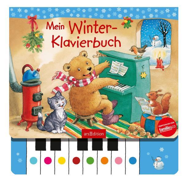 Mein Winter-Klavierbuch als Buch
