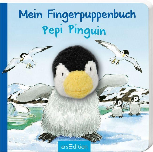 Mein Fingerpuppenbuch - Pepi Pinguin als Buch