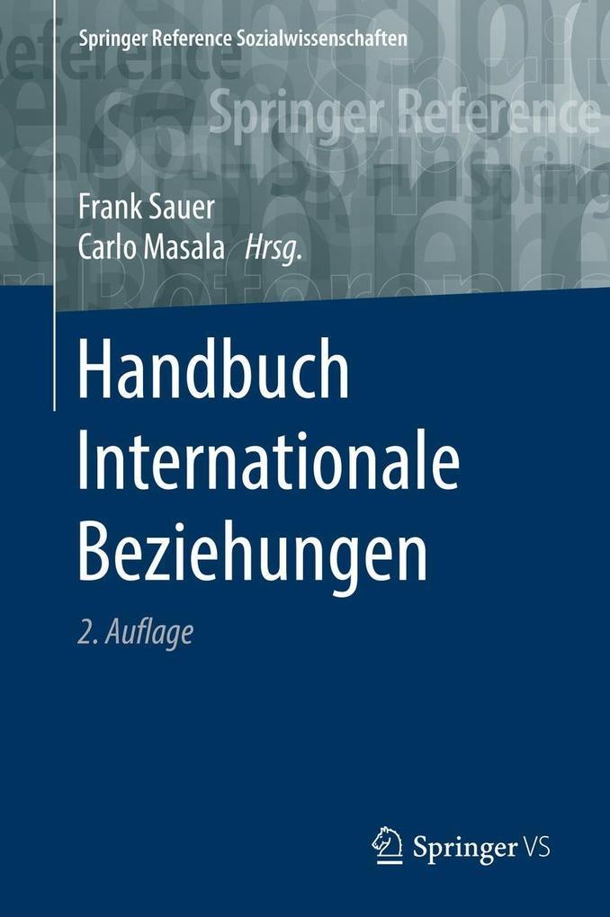 Handbuch Internationale Beziehungen als eBook