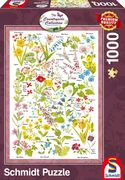 Countryside Art, Wildblumen, 1.000 Teile Puzzle