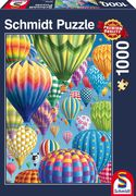 Bunte Ballone im Himmel, 1.000 Teile Puzzle