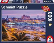 Altstadt und Hafen, Palma de Mallorca, 1.000 Teile Puzzle