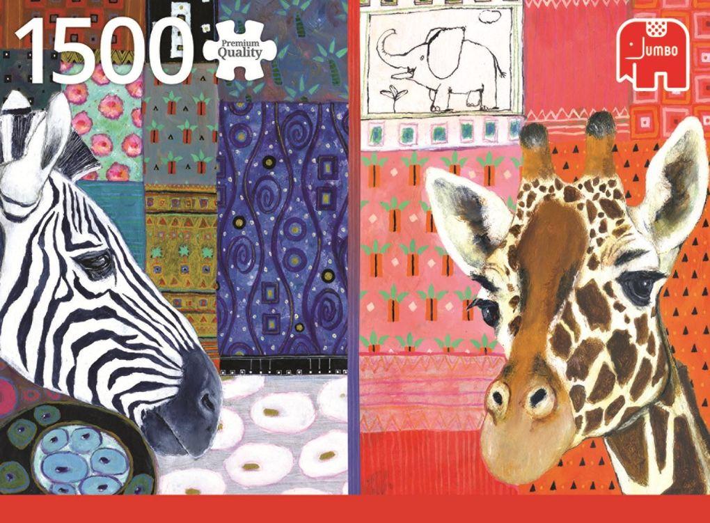 Eugen Stross, Afrikanische Kunst - 1500 Teile P...
