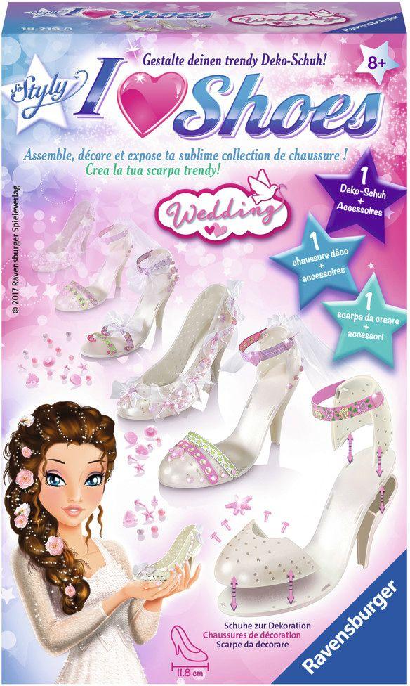 I love Shoes Wedding Basteln