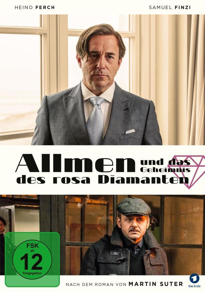 Allmen und das Geheimnis des rosa Diamanten als DVD