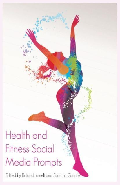 Health and Fitness Social Media Prompts als Tas...