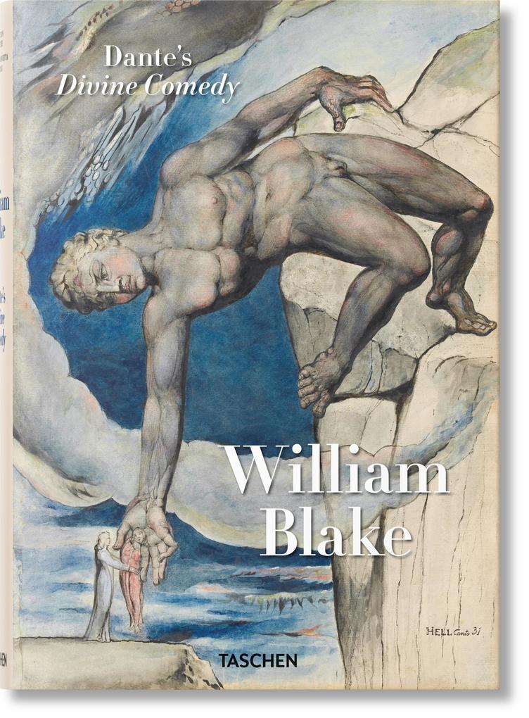 William Blake. Dantes Göttliche Komödie, Sämtl. Zeichnungen als Buch (gebunden)