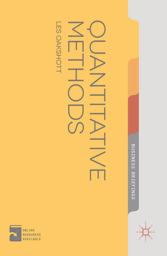 Quantitative Methods als eBook Download von Les...