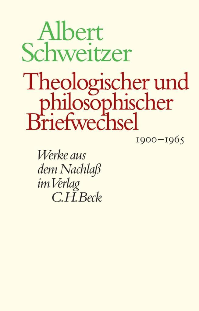 Theologischer und philosophischer Briefwechsel 1900-1965 als eBook