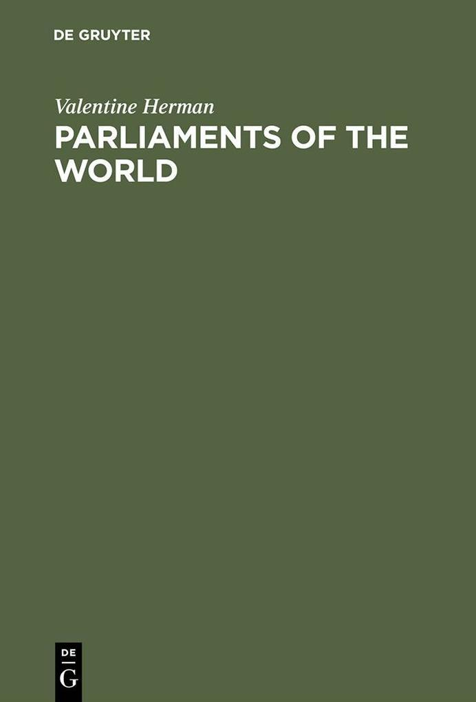 Parliaments of the World als eBook Download von...