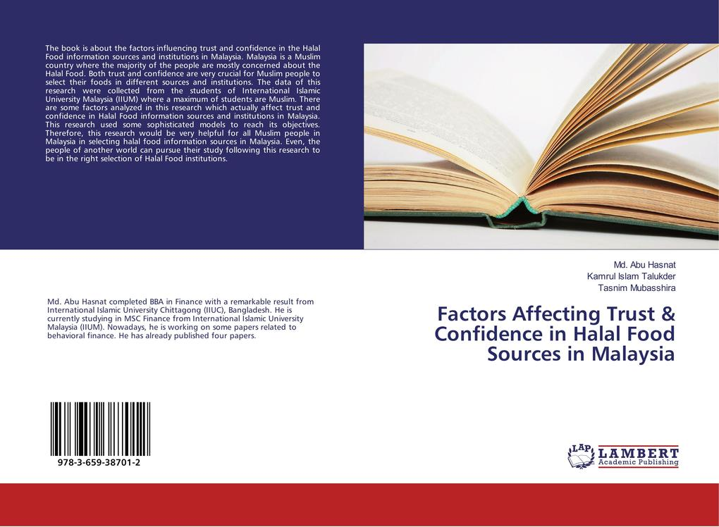 Factors Affecting Trust & Confidence in Halal F...