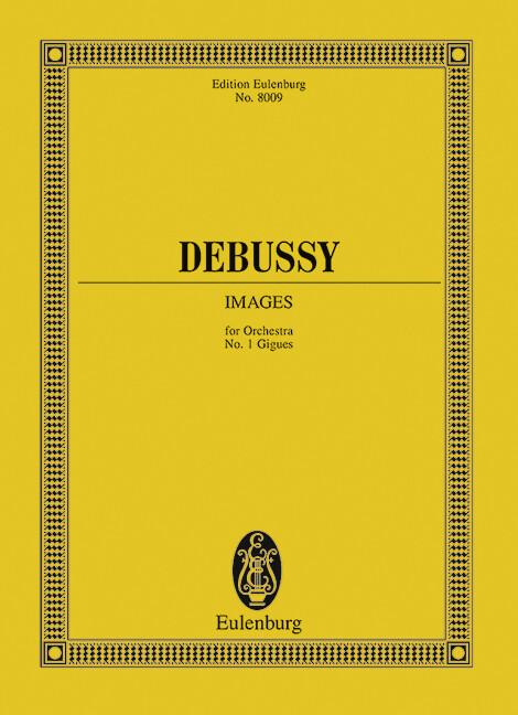Images als Buch von Claude Debussy