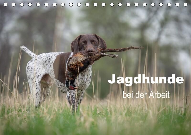 Jagdhunde bei der Arbeit (Tischkalender 2018 DI...