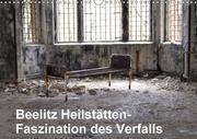 Beelitz Heilstätten-Faszination des Verfalls (Wandkalender 2018 DIN A3 quer)