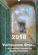 Verlassene Orte... Der morbide Charme von Beelitz Heilstätten / Planer (Wandkalender 2018 DIN A3 hoch)