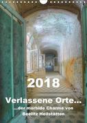Verlassene Orte... Der morbide Charme von Beelitz Heilstätten / Planer (Wandkalender 2018 DIN A4 hoch)