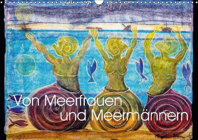 Von Meerfrauen und Meermännern (Wandkalender 20...
