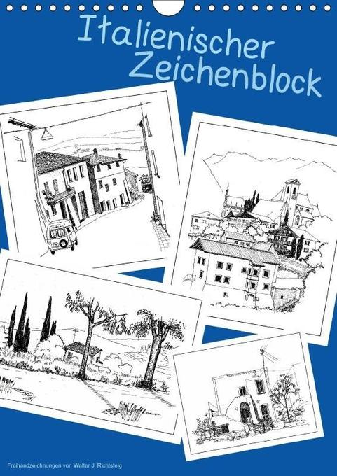 Italienischer Skizzenblock (Wandkalender 2018 D...