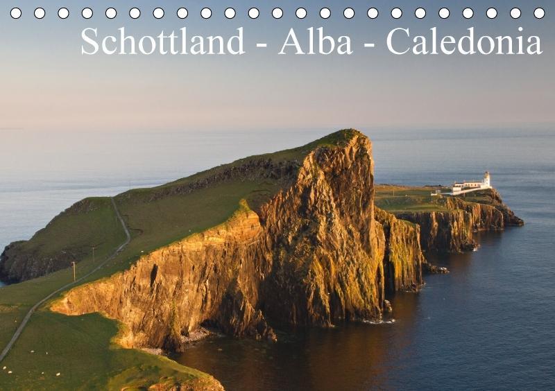 Schottland - Alba - Caledonia (Tischkalender 20...