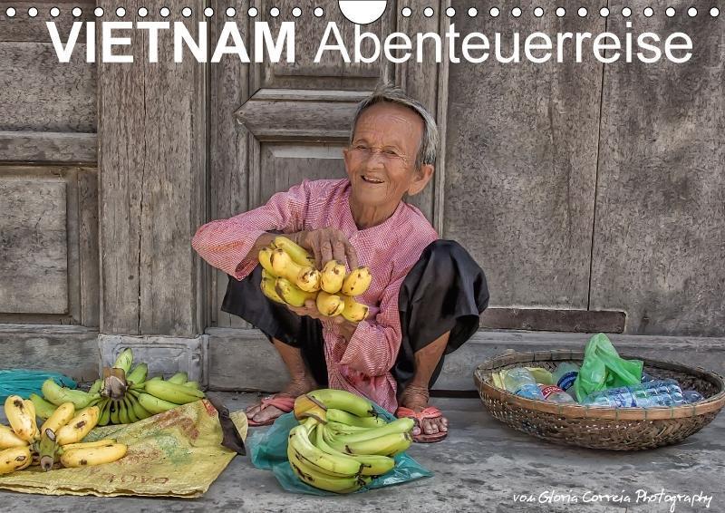Vietnam Abenteuerreise (Wandkalender 2018 DIN A...