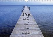 Stege - Wege auf dem Wasser (Wandkalender 2018 DIN A4 quer)