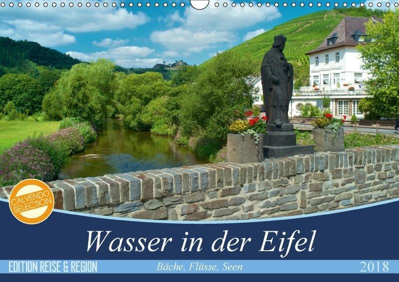 Bäche, Flüsse, Seen - Wasser in der Eifel (Wand...