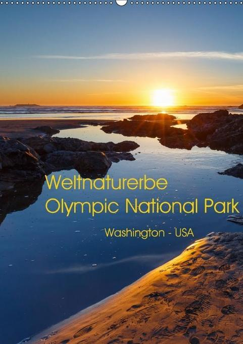 Weltnaturerbe Olympic National Park (Wandkalend...