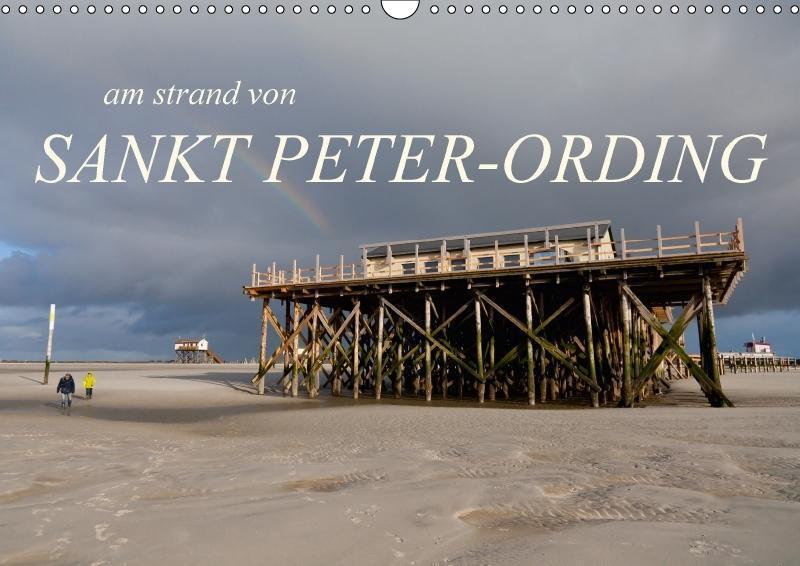 am strand von SANKT PETER-ORDING (Wandkalender ...