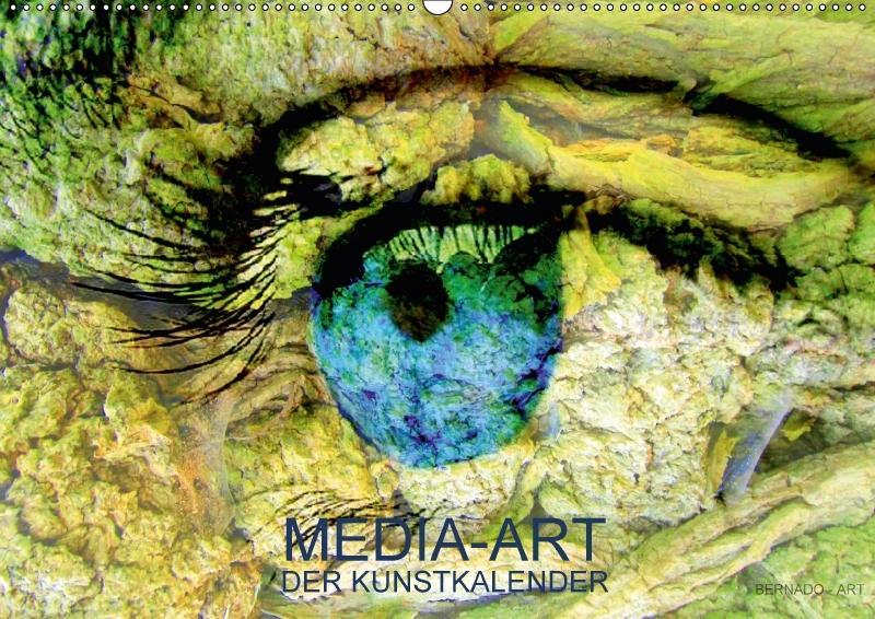MEDIA-ART Der Kunstkalender (Wandkalender 2018 ...