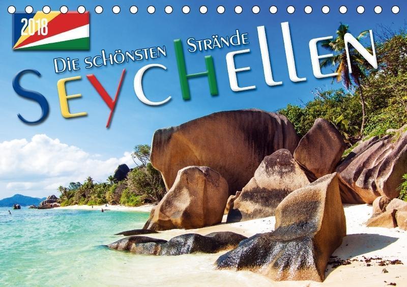 Seychellen - Die schönsten Strände (Tischkalend...