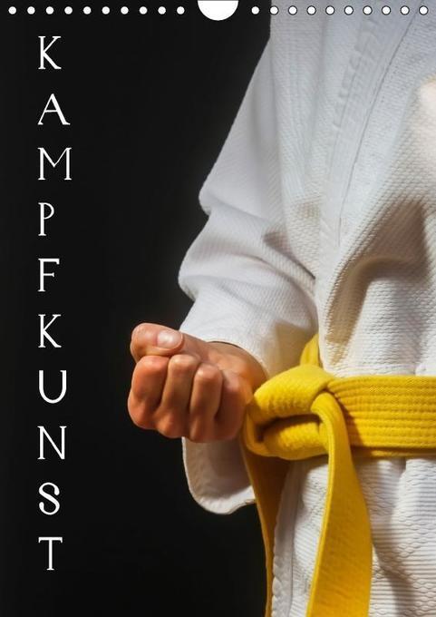 Kampfkunst (Wandkalender 2018 DIN A4 hoch)