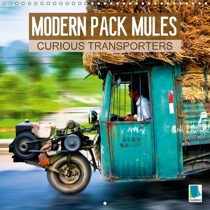 Modern pack mules: Curious transporters (Wall C...