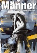 Männer - übermalte Aktfotografien (Wandkalender 2018 DIN A4 hoch)
