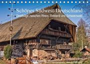 Schönes Südwest-Deutschland Streifzüge zwischen Rhein, Rebland und Schwarzwald (Tischkalender 2018 DIN A5 quer)