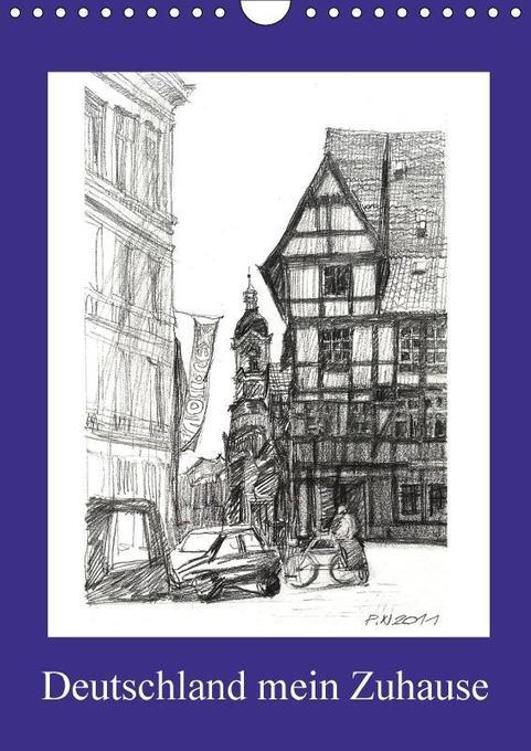 Deutschland mein Zuhause (Wandkalender 2018 DIN...