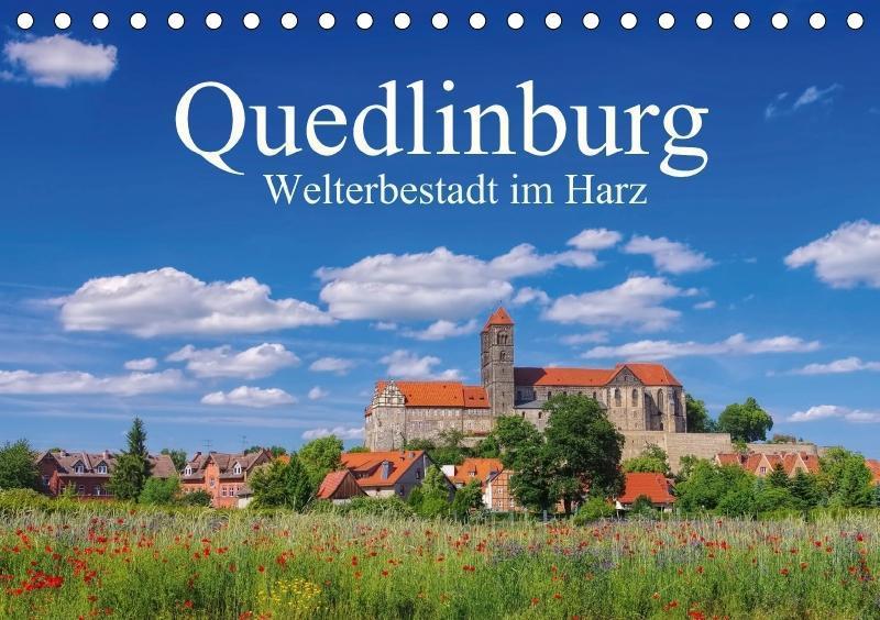 Quedlinburg - Welterbestadt im Harz (Tischkalen...