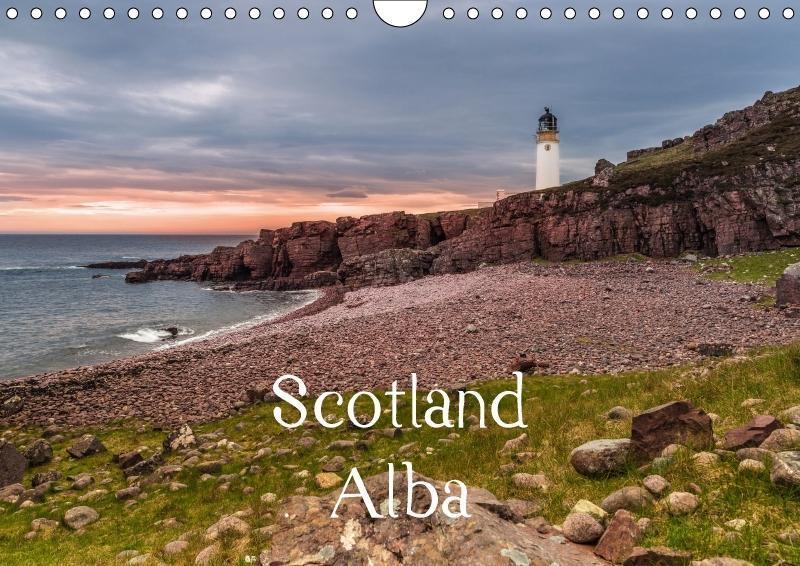 Scotland Alba (Wall Calendar 2018 DIN A4 Landsc...